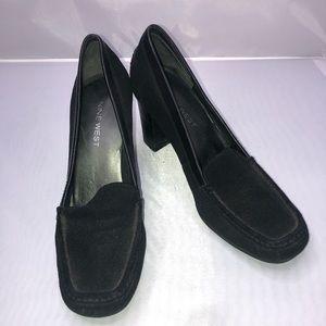 Black Nine West women's heels